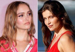 Lily-Rose Depp et Laetitia Casta se font la guerre pour Louis Garrel