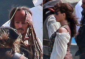 Penélope Cruz tourne à Hawaï avec Jack Sparrow !