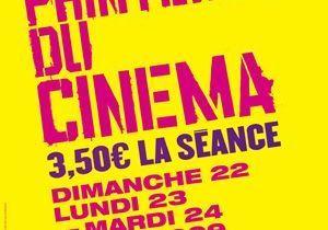 Printemps du cinéma : toutes les séances à 3.50 euros !
