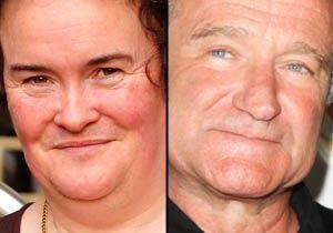 Robin Williams, dans le rôle de Susan Boyle au cinéma ?
