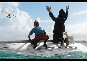 Tintin par Steven Spielberg : les premières images !