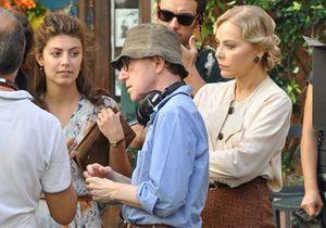 Woody Allen en plein tournage de son nouveau film à Rome