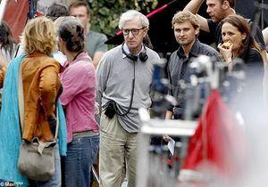 Woody Allen en tournage aux puces de Saint-Ouen