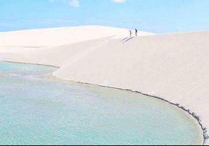 Cette plage de sable blanc est probablement le prochain endroit où vous voudrez partir en vacances