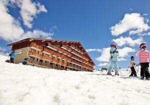 Partir au ski avec un bébé en résidence Pierre & Vacances