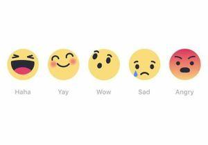 Facebook crée des boutons « réactions » pour varier du « j'aime »