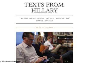 Hillary Clinton : ses faux SMS font le buzz