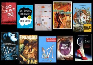 Livres : le top ten spécial « ados »