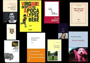 Top ten livres : les 10 filles de la rentrée