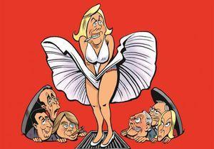 « La face crashée de Marine Le Pen » : la BD évènement croquée par Riss