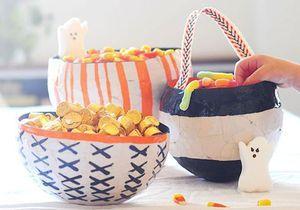 Comment faire un panier pour Halloween ?