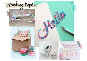 Masking tape : 20 DIY fun et colorés pour s'inspirer