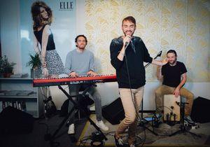 ELLE LIVE #24 : Christophe Willem chante à la rédaction