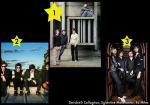 Banc d'essai : trois groupes de musique