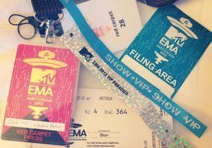 MTV EMA 2013 : dans les coulisses de la cérémonie !