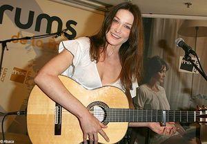 Carla Bruni de retour en studio pour son quatrième album