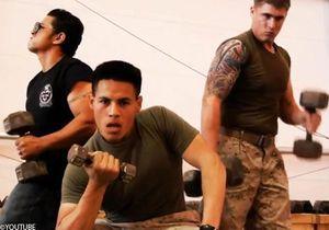 Des soldats américains volent la vedette à Britney Spears
