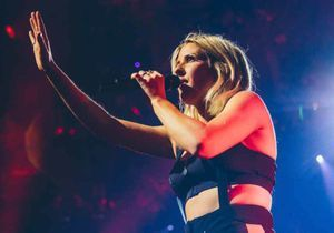 Ellie Goulding enchante l'Apple Music Festival