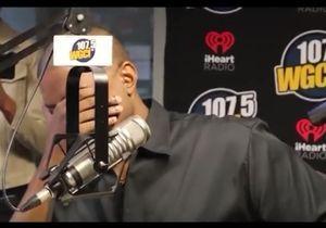 En direct, Kanye West craque et fond en larmes à la radio