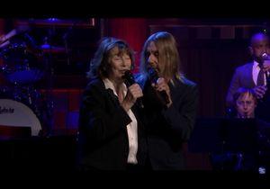 Jane Birkin et Iggy Pop reprennent « Elisa » de Serge Gainsbourg et c'est touchant