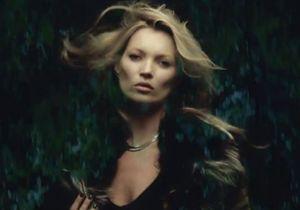 Kate Moss, l'apparition du nouveau clip de George Michael