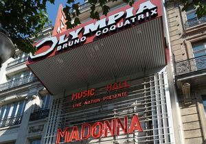 Madonna : son concert à l'Olympia diffusé en direct sur Youtube