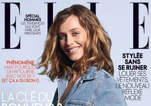 Cécile de France en couverture de ELLE cette semaine !
