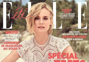 Diane Kruger, en couverture de ELLE cette semaine