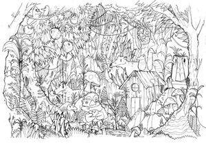 #MonColoriageELLE : la jungle
