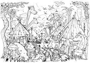#MonColoriageELLE : la savane
