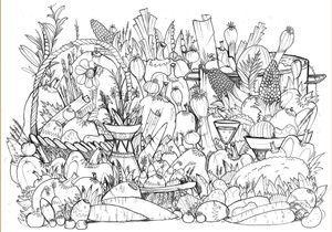 #MonColoriageELLE : le panier de légumes