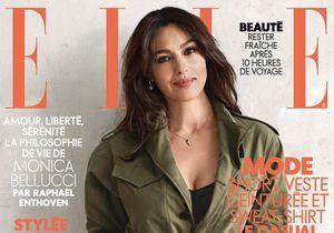 Monica Bellucci, en couverture de ELLE cette semaine
