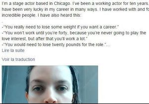 Une actrice américaine dénonce le sexisme dont elle a été victime