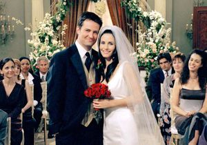 « Friends » : Monica et Chandler, un simple coup d'un soir pour les créateurs de la série !