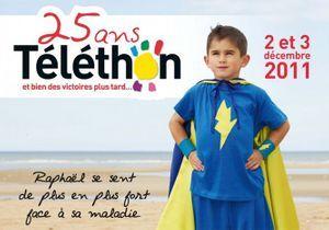 La 25e édition du Téléthon avec Gad Elmaleh