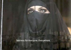 Niquab et sous-vêtements : la pub qui fait polémique