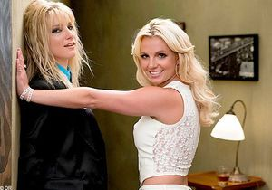 Photo : Britney Spears s'éclate sur le tournage de « Glee » !