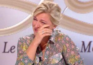 Anne-Elisabeth Lemoine fond en larmes à cause de son père