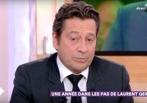 « C à Vous » : très ému, Laurent Gerra évoque les morts de Johnny Hallyday et Charles Aznavour