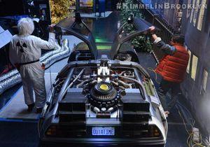 Christopher Lloyd et Michael J. Fox rejouent Retour vers le Futur pour Jimmy Kimmel