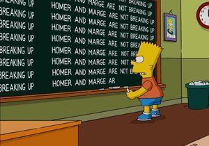 Non, Marge et Homer Simpson ne divorceront pas