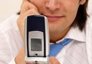 Plaisir : les hommes préfèrent leurs téléphones !