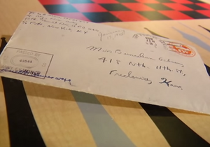 A 90 ans, il redécouvre une lettre d'amour envoyée à sa femme en 1945 !