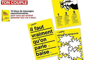Couple : communiquez par post-it !