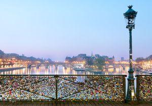 Des selfies pour remplacer les cadenas de l'amour à Paris