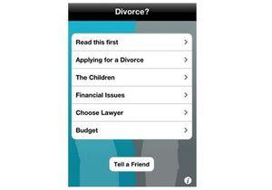 Divorcer ou pas ? L'application qui aide à faire son choix