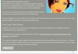 Etats-Unis : un site érotique réservé aux femmes