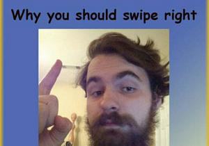 Il crée un drôle de tuto pour matcher sur Tinder !