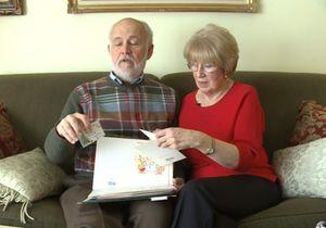 Il envoie 15 000 lettres d'amour à sa femme !