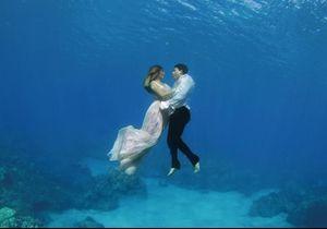 #PrêtàLiker : ces photos de mariage sous l'eau sont sublimes !